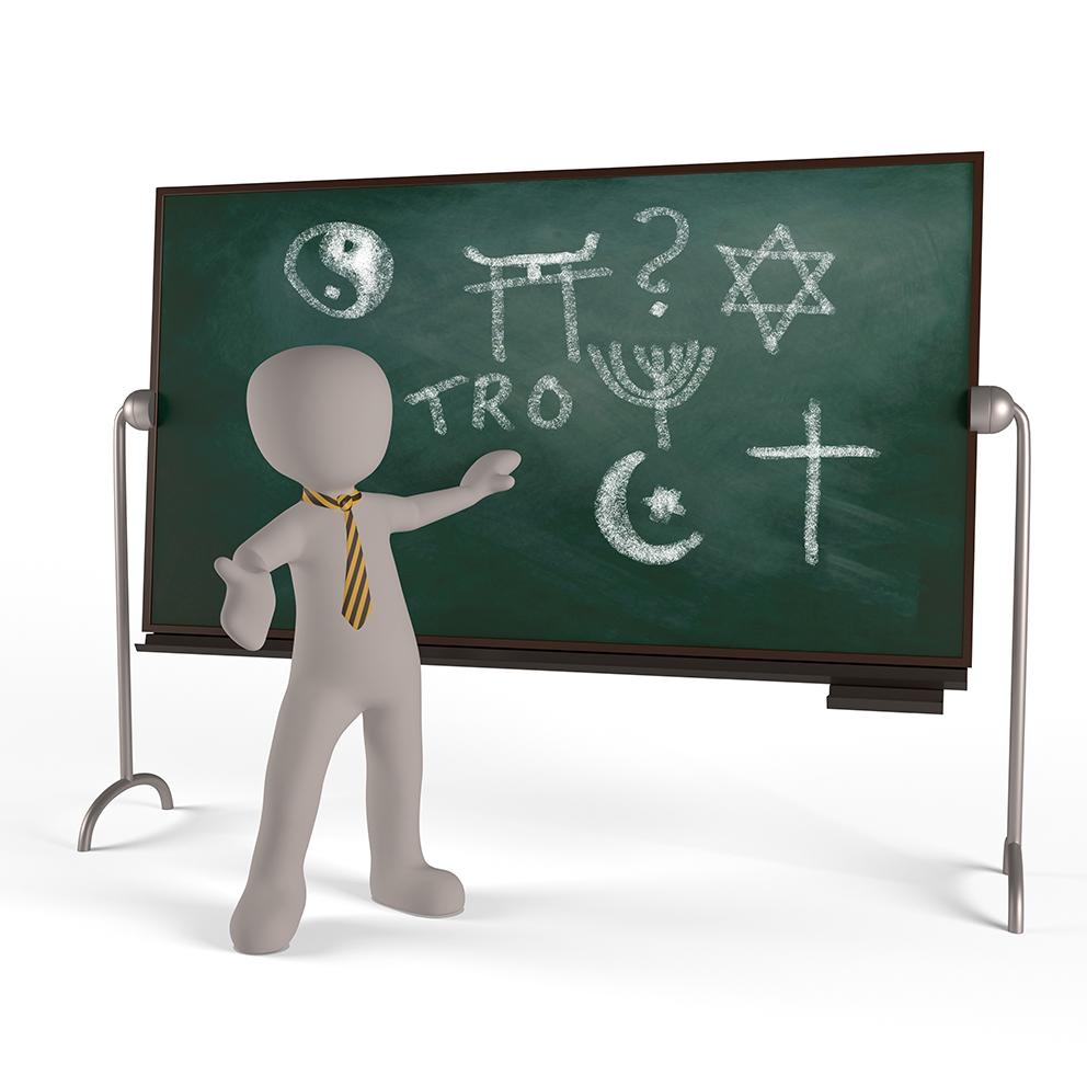 Förenklat om religionsundervisningen