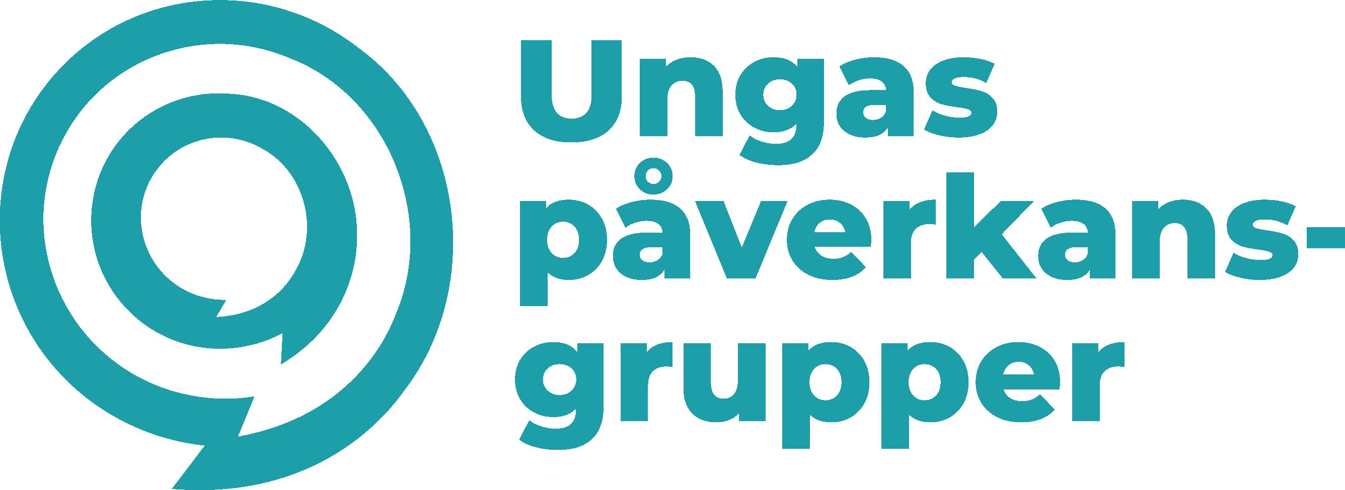 Logo för ungas påverkansgrupper.